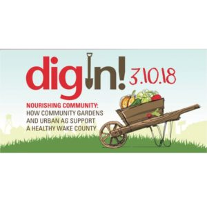 Cover photo for 2018 Dig-In!