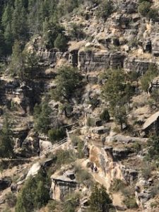 Walnut Canyon landscape
