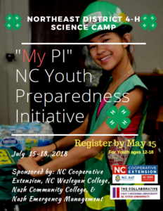 Northeast District 4-H Science Camp
