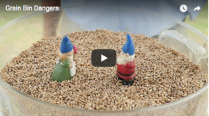Video intro for Grain bin dangers