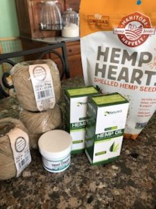 Image of hemp products