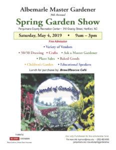 Cover photo for Albemarle Master Gardener Volunteers Hold Spring Garden Show