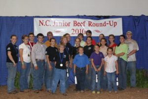 Cover photo for 2019 NC Junior Beef Round-Up