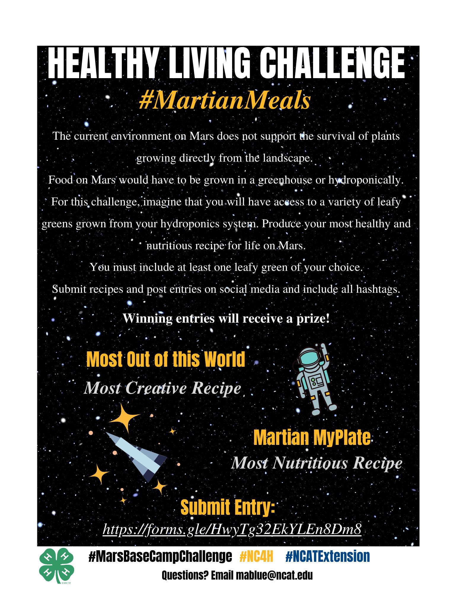 Martian Meals