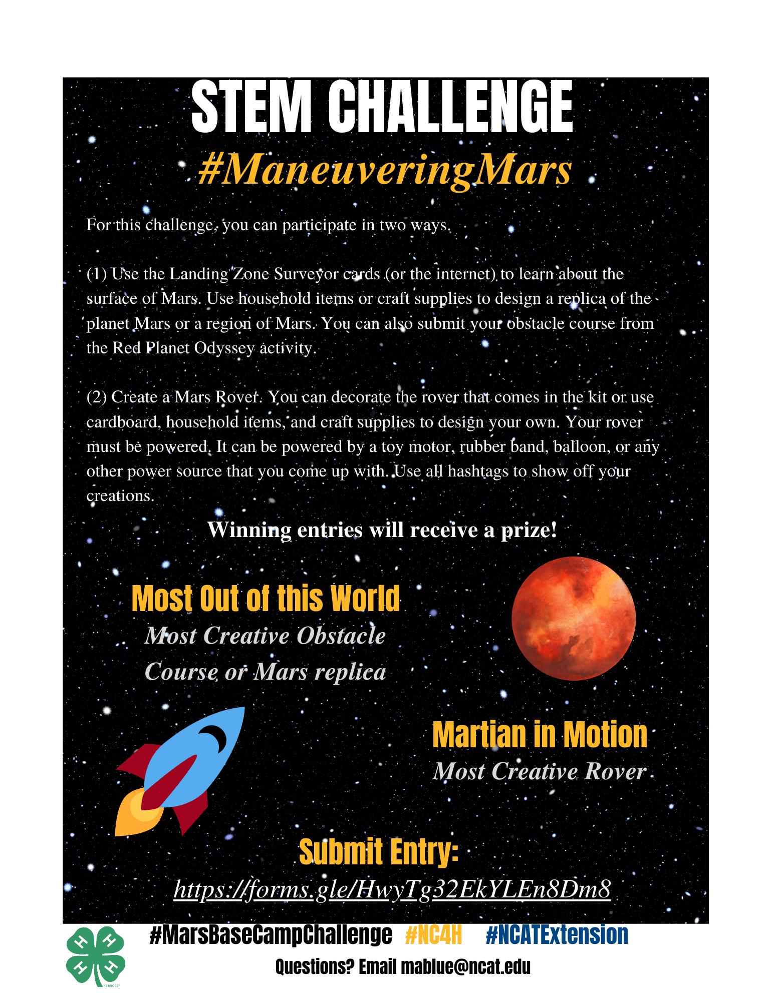 Maneuvering Mars