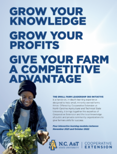 Cover photo for Cooperative Extension at N.C. A&T State University Seeks Participants for New Program Aimed at Small, Minority Farmers
